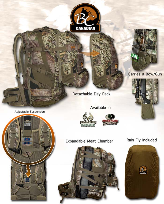 Black Creek Canadian Pack
