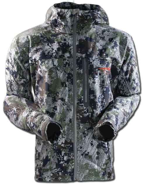 Downpour Jacket Forest Pattern