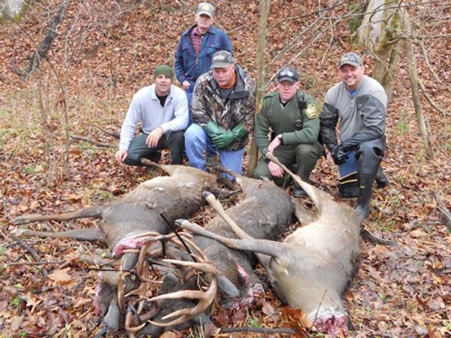 3 Locked Bucks Ohio